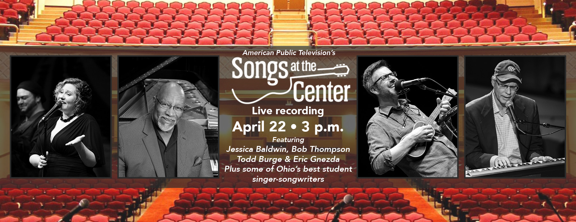 Songs At The Center Live Taping Peoples Bank Theatre
