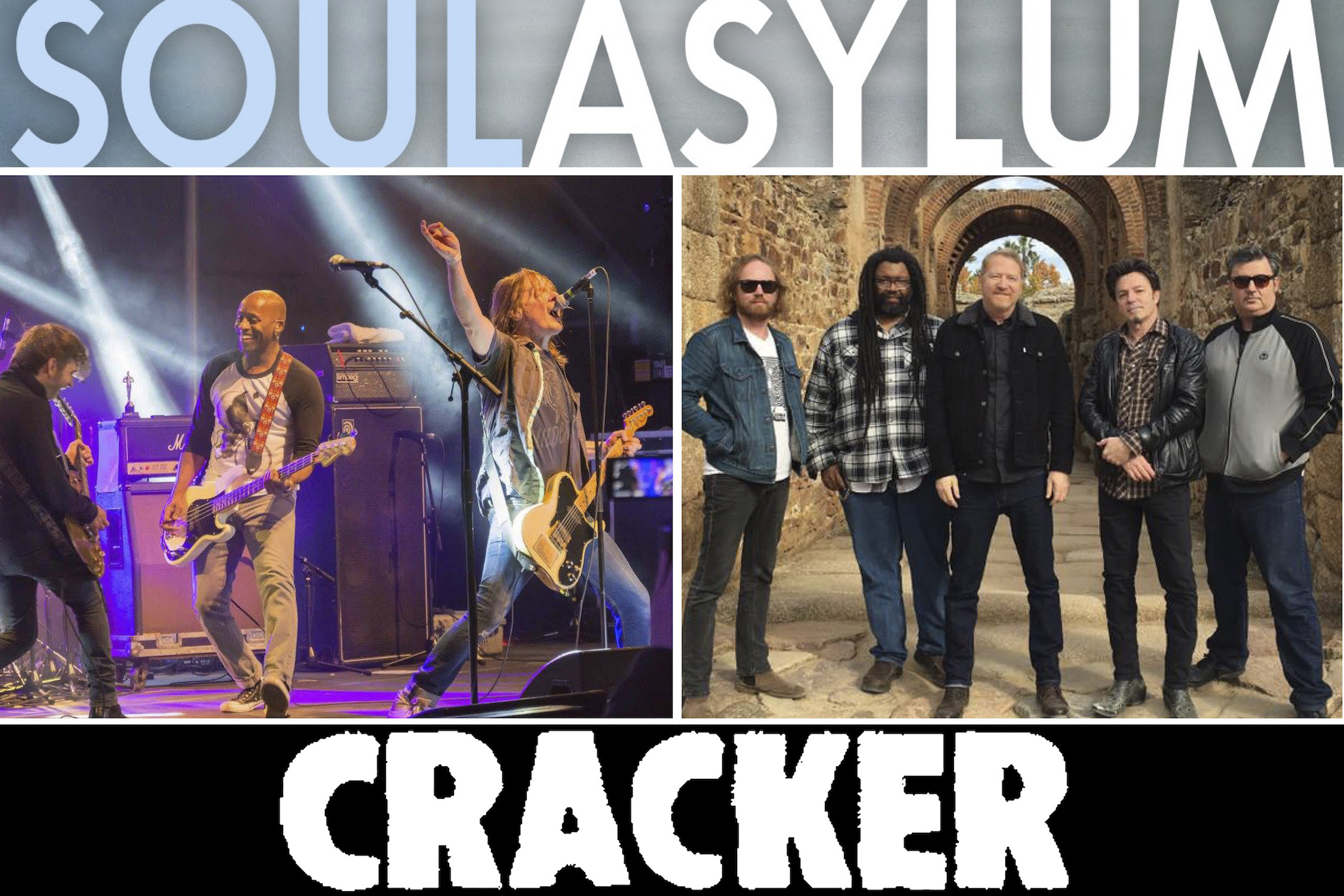 Soul Asylum And Cracker Peoples Bank Theatre